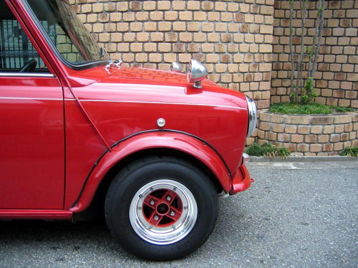 SSR Mk2 on Mini Cooper