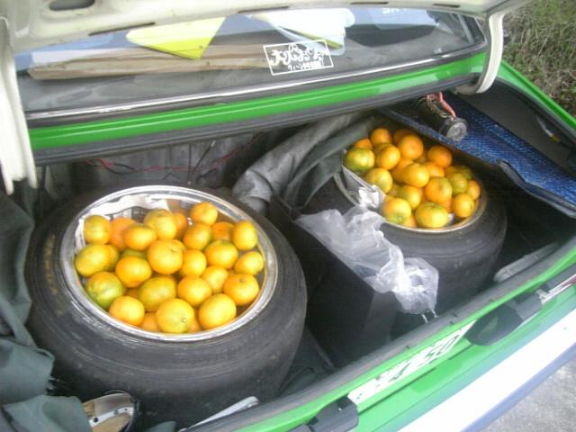 Deep dish tangerines
