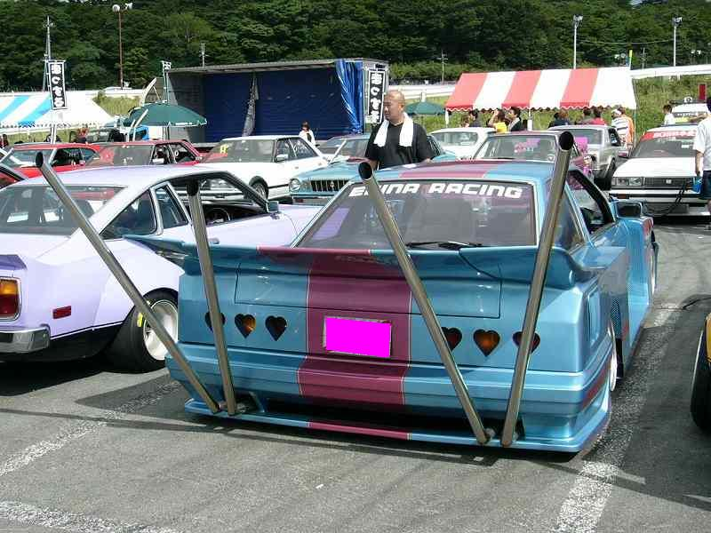 Soarer with the double U exhaust and loooovely taillights!