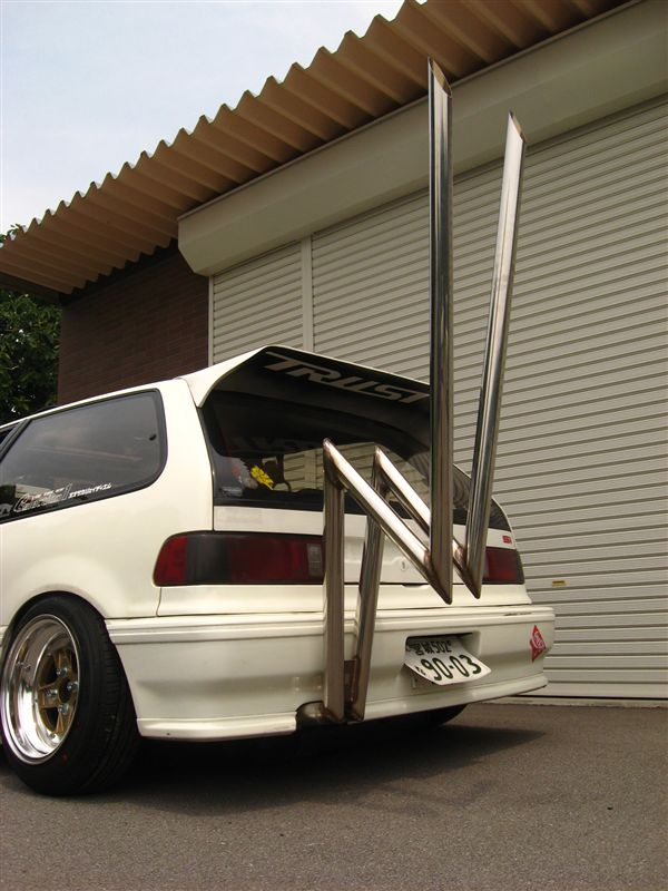 Exhaust of the week: Zig Zag Civic