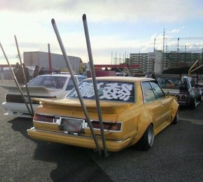 Full camber Bosozoku-exhaust-of-the-week-toyota-cresta-gx51-pic1