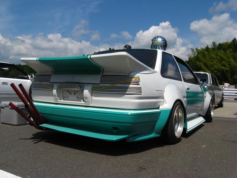 Levin quad exhaust