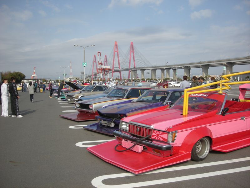 Nagoya Exciting Car Showdown 2010 parkinglot
