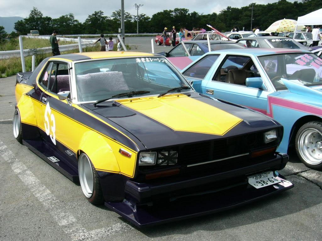 Bosozoku style Nissan Laurel C130