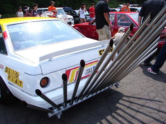 Exhaust of the week: Olio Fiat Soarer MZ11