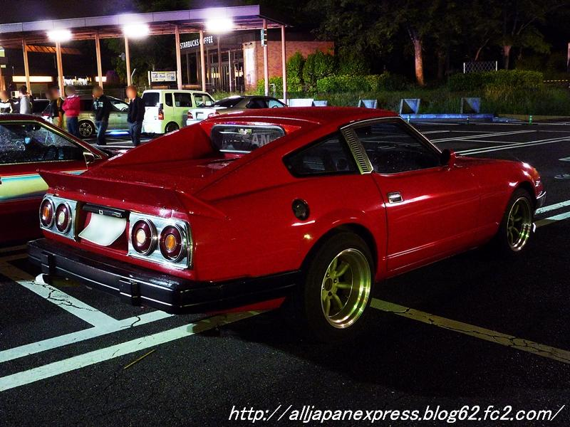 Nissan 280ZX with Skyline C210 tail lights