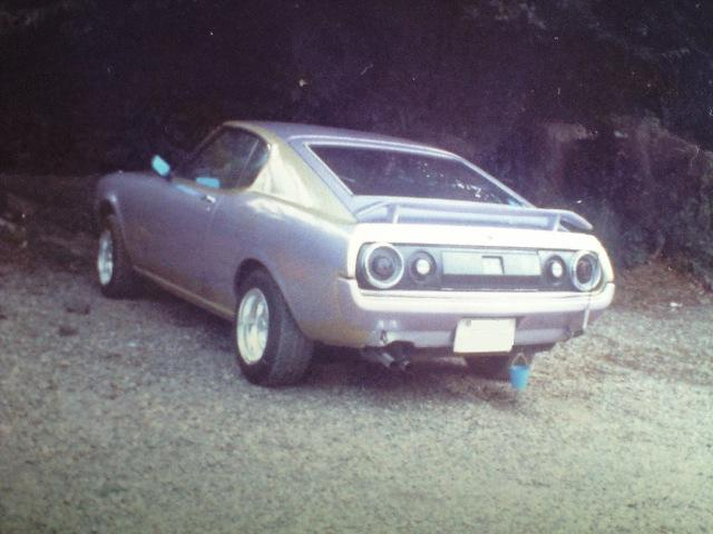 Celica RA28 with C110 tail lights