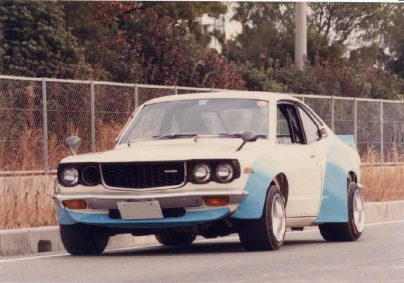 Picture of the week: eighties Mazda Savanna RX3 kaido racer