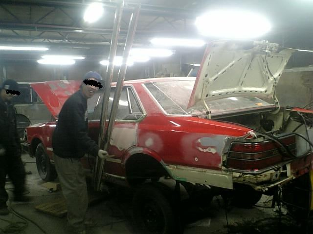 Nissan Gloria 430 under construction
