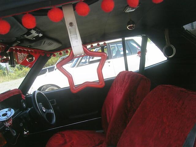 Toyota Mark II MX41 interior