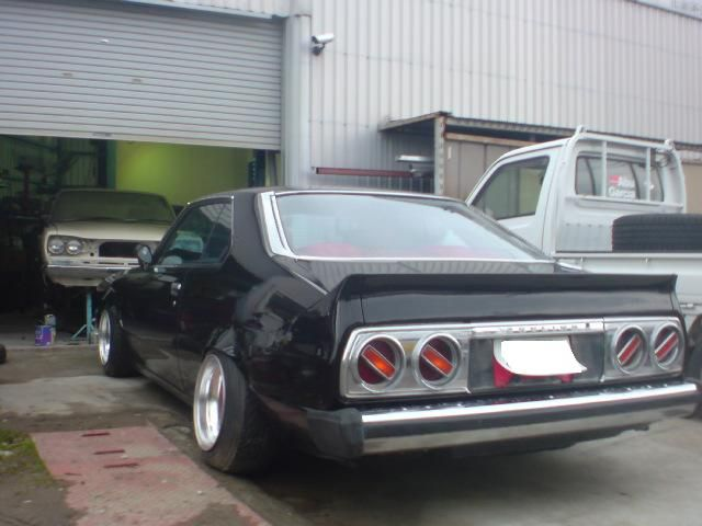 Skyline GC211 with double Cherry X-1 tail lights