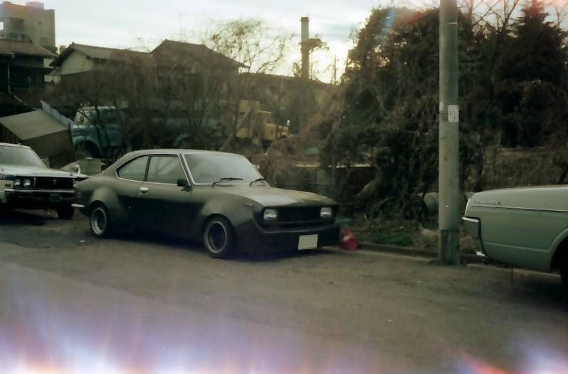 Bosozoku style Mazda Capella RX2