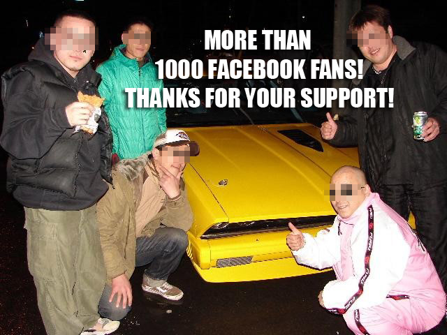 More than 1000 Facebook fans!