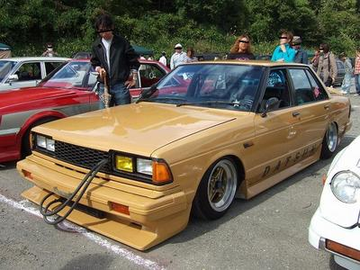 Nissan Bluebird 910 with Gazelle S110 headlights