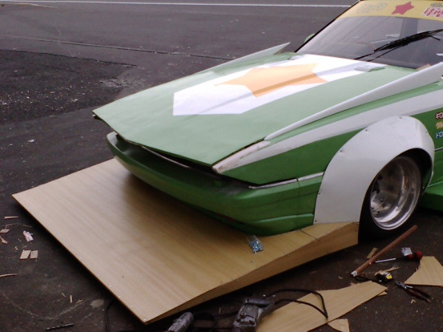 Soarer with wooden chin spoiler?