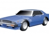 Aoshima sharknose Skyline C210 RC car