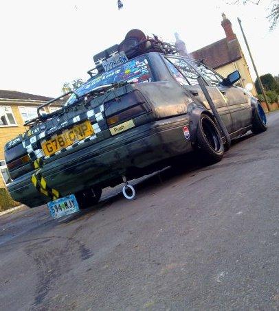 Rat look Nissan N13 Sunny zokusha