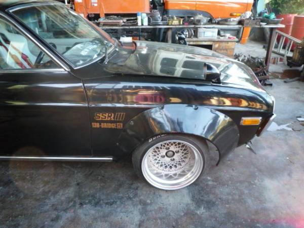 SSR Formula Mesh 15 inch 10J on a Mazda RX3