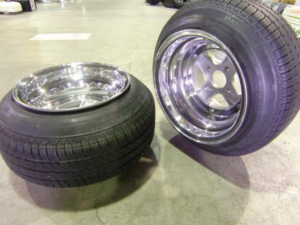 SSR Mk II 14 inch 10J/11J with stretched tires