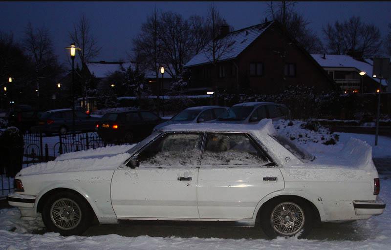 Toyota Chaser GX71 snowzoku