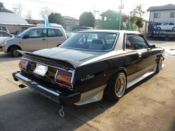 Featured: Toyota Chaser MX41 hardtop coupe