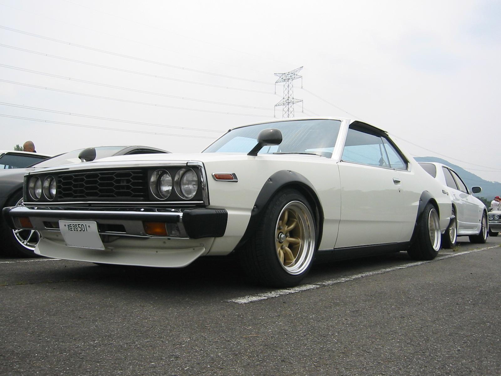 Kyusha style Nissan Skyline C210