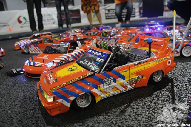 bosozoku style rc drifter: toyota mark ii gx71
