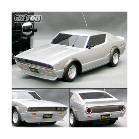 Sharknosed kenmeri Skyline RC car