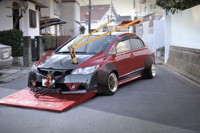 Honda CIvic Type R zokusha