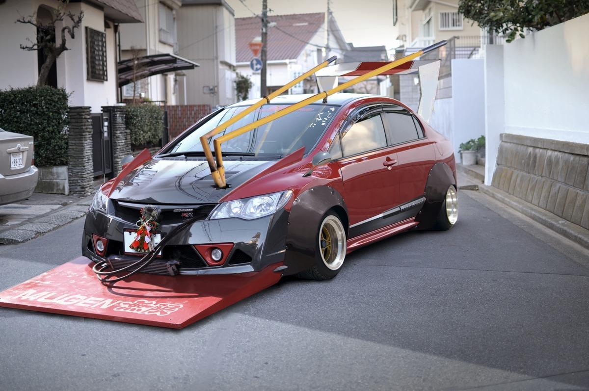 Honda Civic Type R Zokusha Bosozoku Style
