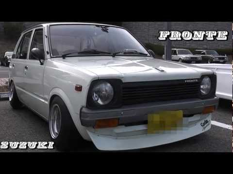 Deep dish SSR Formula Mesh on a Suzuki Fronte SS40