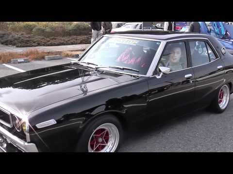 Old Car New Year 2012 meeting Awaji Island