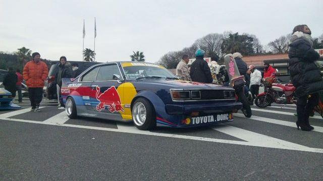 Red Bull Toyota Carina RA45 kaido racer