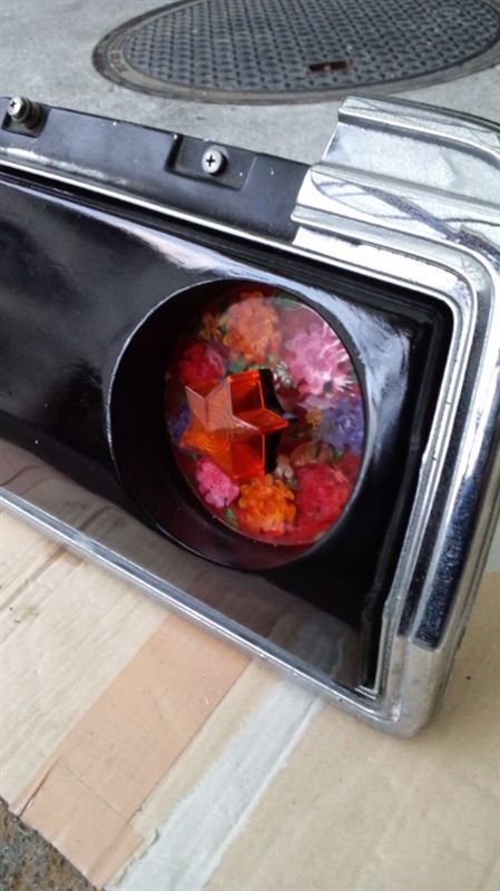 Kenmeri Skyline flower tail lights