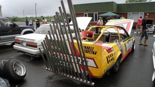 Olio Fiat bukkake exhaust