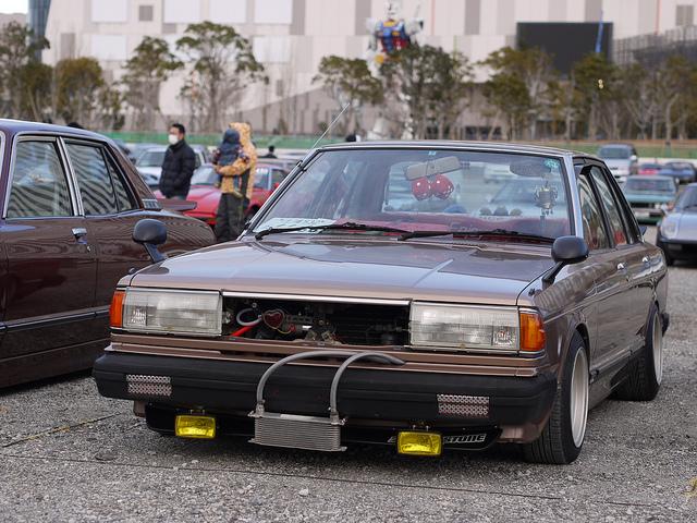 Shakotan Nissan Bluebird 910 by Ka Ry