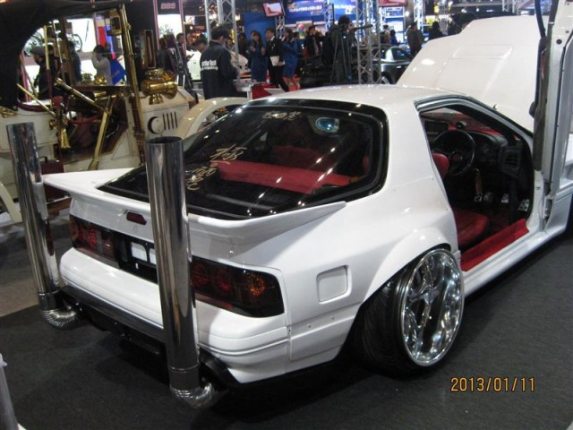 Chimney takeyari Mazda Savanna RX7 FC3S