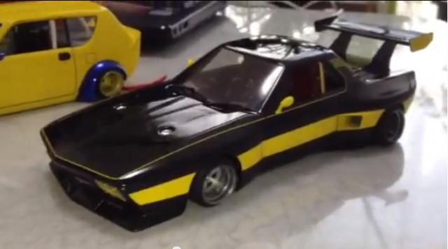 Kaido Racer scale models